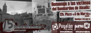 75 años bombardeo Alcañiz