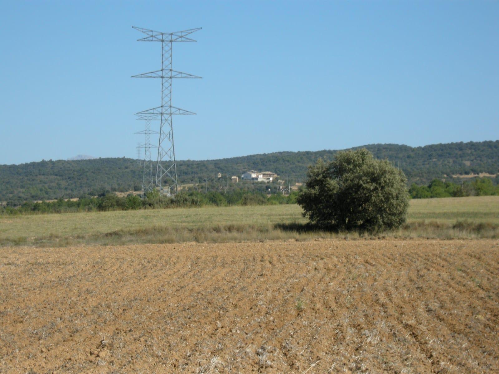 Llinia d'Alta Tensión Aragón-Cazaril. Foto: Blog Alta Tensión