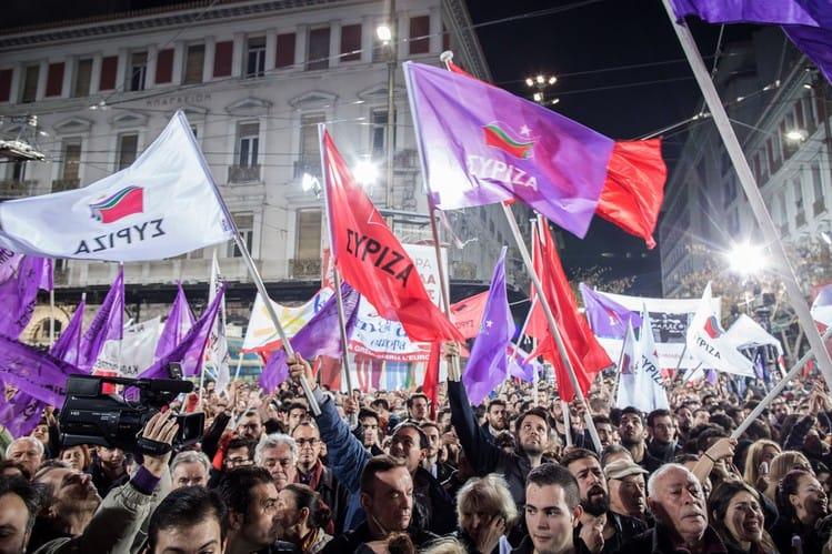 SYRIZA Grecia