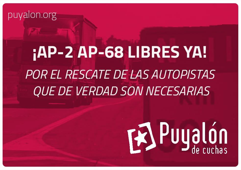 Autopistas AP2 AP68 LIBRES