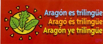 aragon ye trilingüe, argonés, catalán