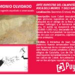 ARTE RUPESTRE DEL CALAPATÀ: ROCA DELS MOROS Y DELS GASCONS Cretas Queretes