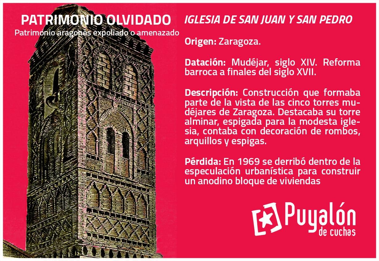 Iglesia mudejar San Juan y San Pedro Zaragoza