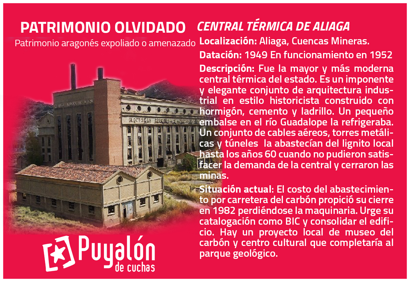 central térmica de Aliaga