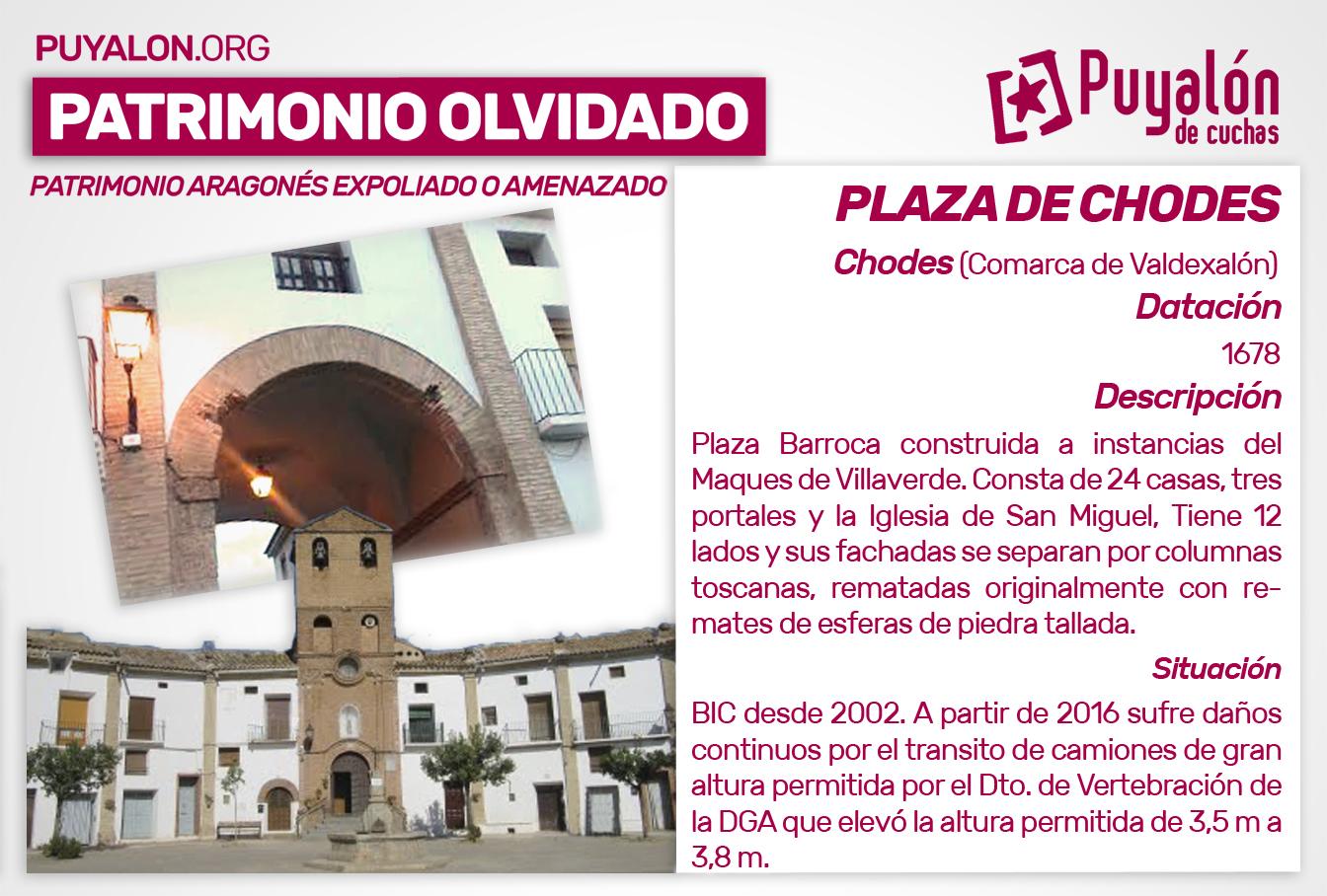 Plaza de Chodes