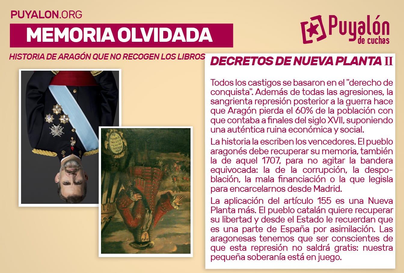 Decretos de Nueva Planta Aragón II