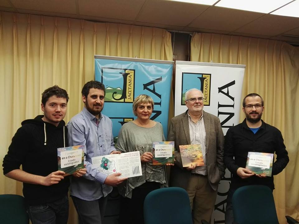 presentación estudio del aragonés chacetania