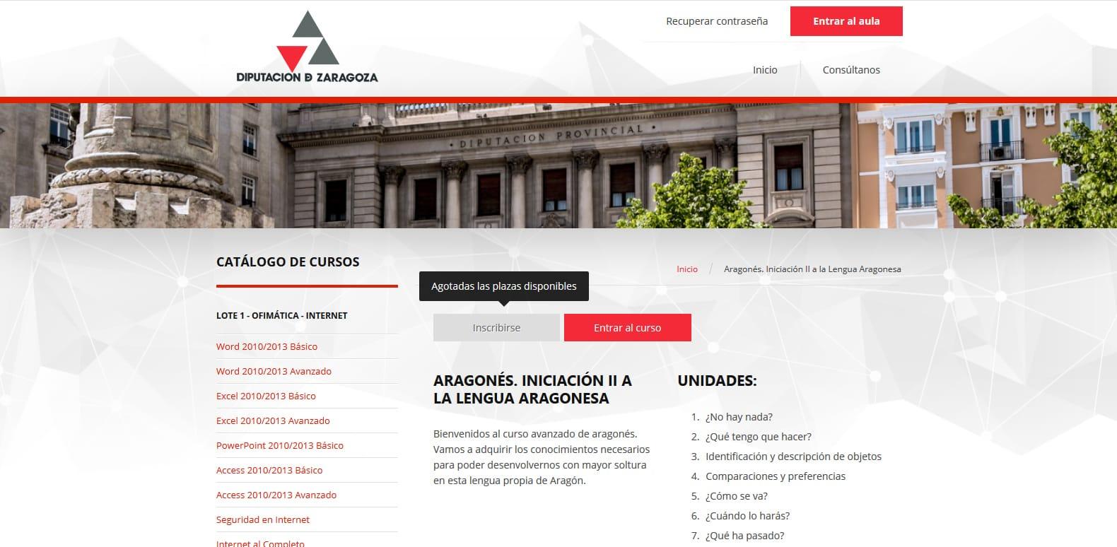 Curso de aragonés